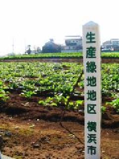 生産緑地標識